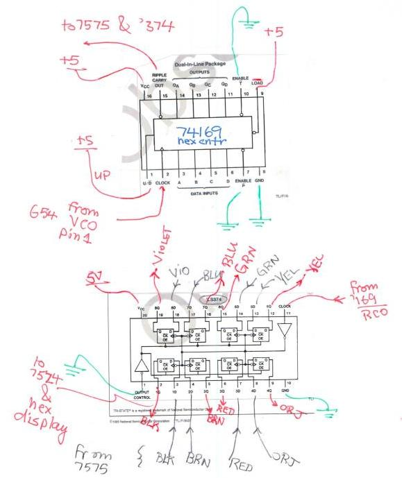 Datasheet) 74ls169 pdf bcd decade/modulo 16 binary synchronous.