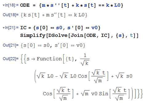 Dynamics And Vibrations Notes Free Undamped Vibrations