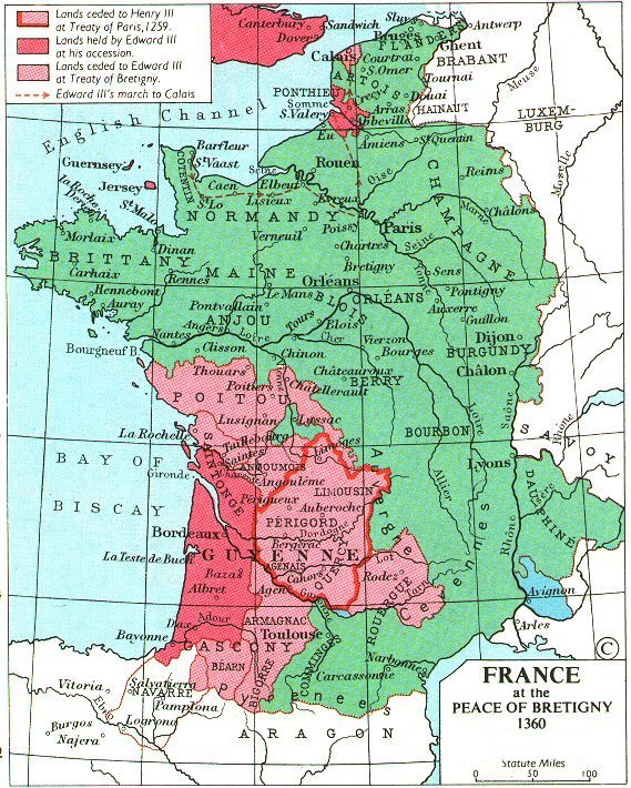Medieval Map Of France.Decameron Web Maps