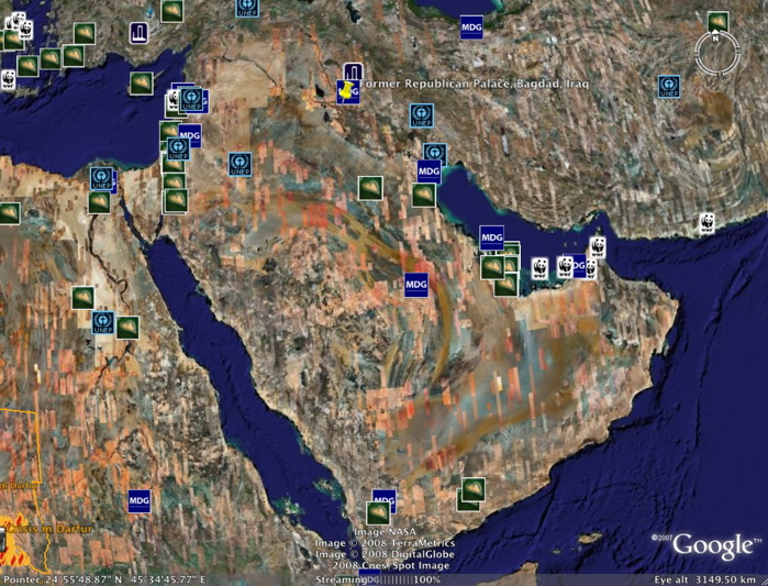 Assignment  Curious Maps Of The Middle East - Us map imposed over mid east for size comparison