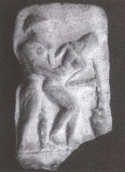 Erotic sumerian plaques
