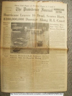 Remembering Providence's Hurricanes