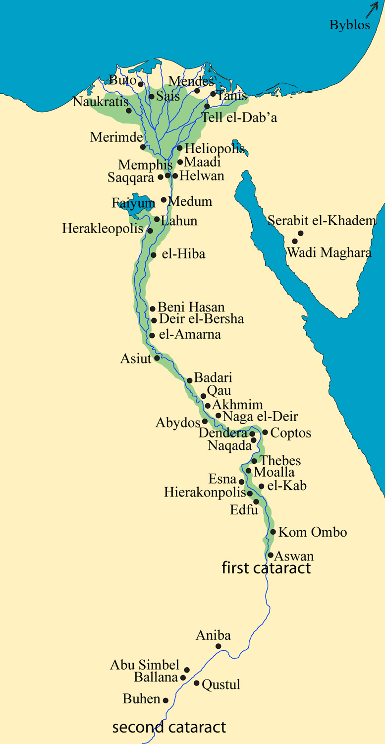 Midterm Questions Images Map Etc - Map of egypt thebes