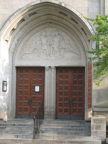 Uploaded Image Door to the Oriental ... & The Oriental Institute Chicago and its famous tympanum