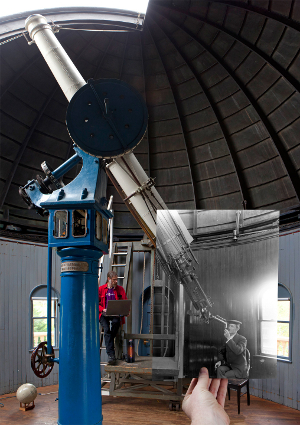 Telescope Observing Night at Ladd Observatory