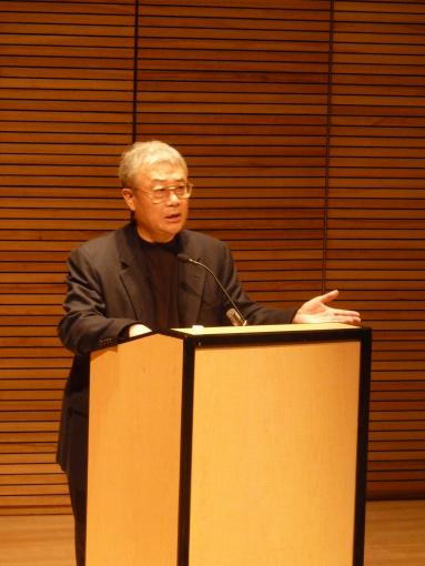Ha Jin read from his latest work at Brown University's Granoff Center