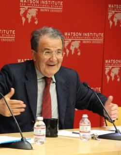 Former PM Prodi delivers lecture on China, Europe, and the world.