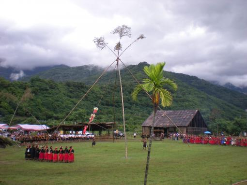 """Rukai Swing Festival, Taromak village"", photo by Paul Voss"