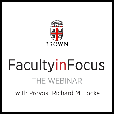 Faculty in Focus Virtual Event Series logo