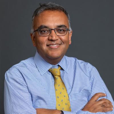photograph of Ashish Jha