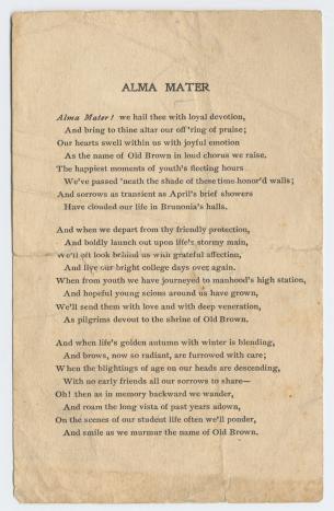 Brown's History: A Timeline | Brown University Timeline