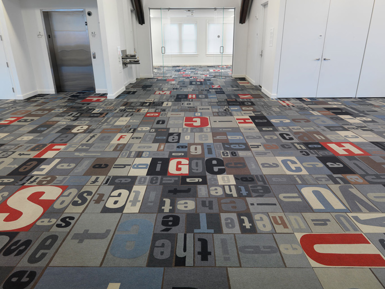 Ann Hamilton, ground, 2010
