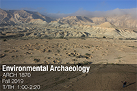 Environmental Archaeology course poster