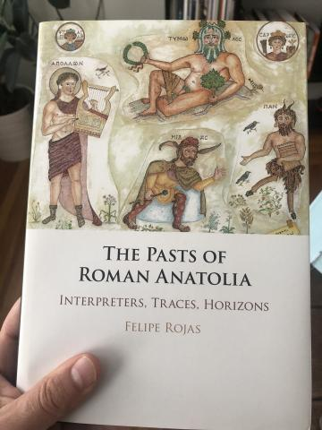 Pasts of Roman Anatolia Front Cover