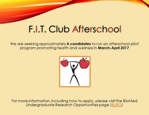 F.I.T Club Fellowship