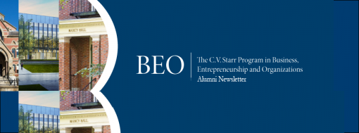 BEO Alumni Newsletter