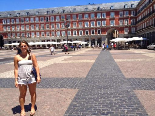 Plaza Mayor, Madrid, Spain: Photo credit to Lauren Clarke