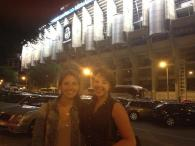 Santiago Bernabeu Stadium: Photo credit to Lauren Clarke