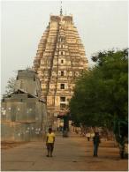Temple in Hampi, Karntaka, India: Photo credit to Zachary Whitman