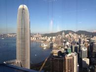 View of Hong Kong from the office: Photo credit to Luke Lingyu Chen
