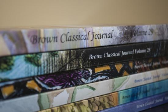 Latest Volumes of the Brown Classical Journal