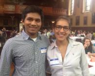 Neel and Julie, MAPS 2013-14 Coordinators