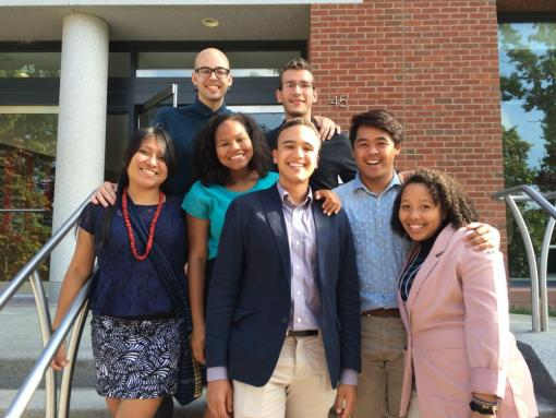 Fellows attend the Mellon Mays New England Regional Conference, Wesleyan University, 2013