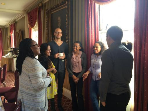 Mellon Fellows gather to welcome the newly selected cohort