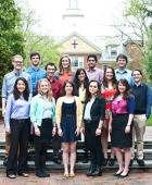 Some of Brown's Newly Minted Fulbrighters: