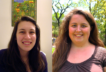 Udall Scholars, Katherine Hadley (left) and Rebecca Rast (right)