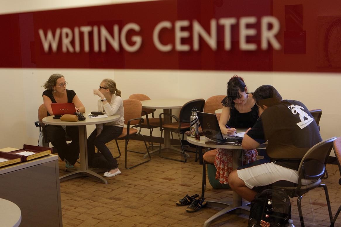 writing center appt
