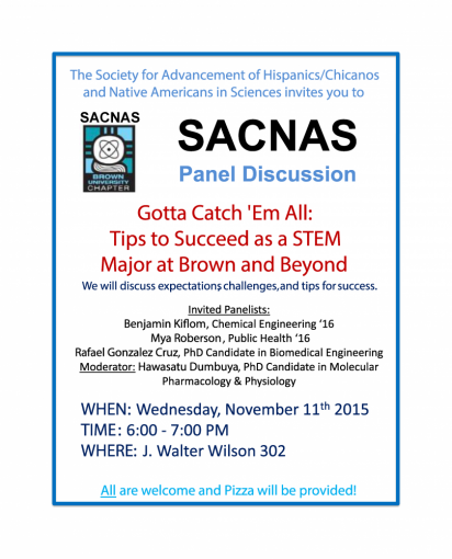 SACNAS Student Discussion Panel