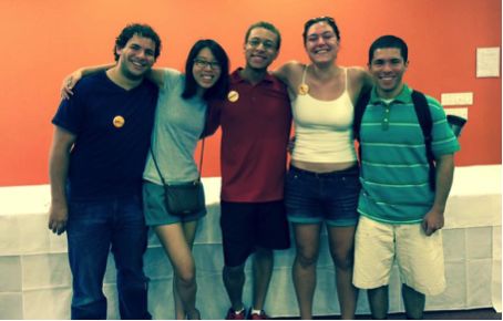 Pictured (left to right): Joseph Botros, Winnie Shao, Donovan Dennis, Ivy Brenneman, David Hernandez