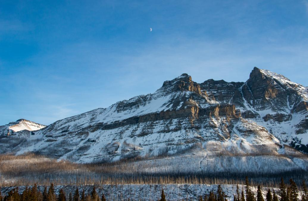 Mountains in Banff, Canada