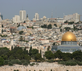 """Jerusalem and the Dome of the Rock"" by Scott Soerries"
