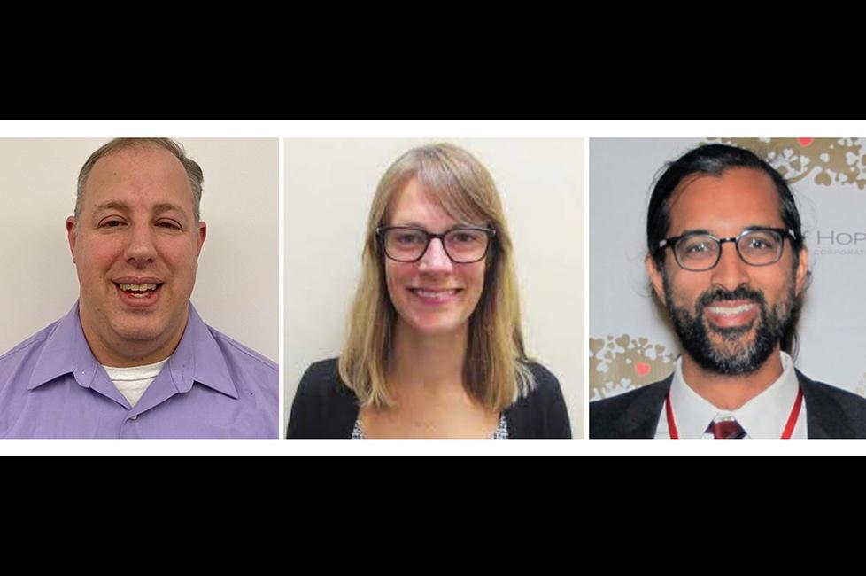 Headshots of Dr David Sobel, Dr. Catherine Trimbur, and Dr. Rahul Vanjani