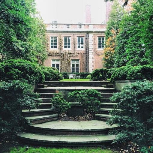 The French Gardens at Rochambeau House