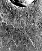An odd type of crater :