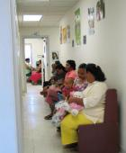 Check-up at the well baby clinic, American Samoa: