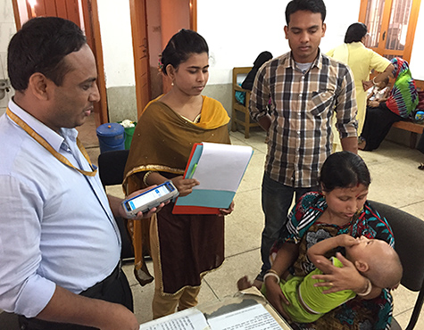 Bangladesh: Research on mHealth for Cholera Management
