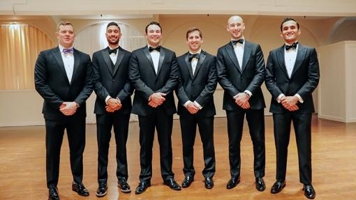 The Resident Class of 2021 Devin Walsh, MD, Devan Patel, Ryan O'Donnell, Jimmy Levins, Jeremy Raducha, Shashank Dwevidi