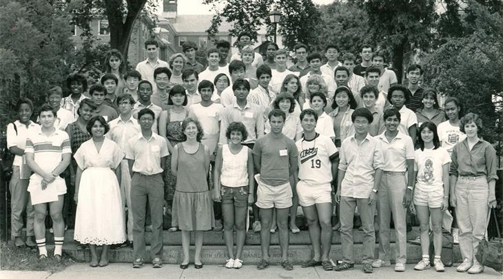 The first PLME class, 1985