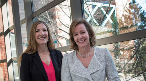 Daphne Koinis-Mitchell and Beth McQuaid
