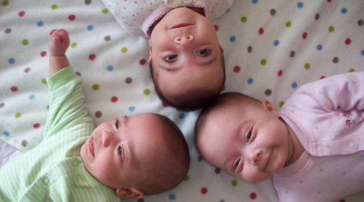 Multiple births rising