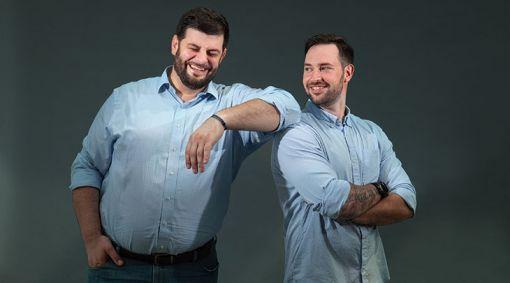 Scotti Pfirrman (left) and Tom Lopardo (right)