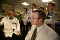 Immersive clinical experiences: Medical students begin their clerkships in Year 3.
