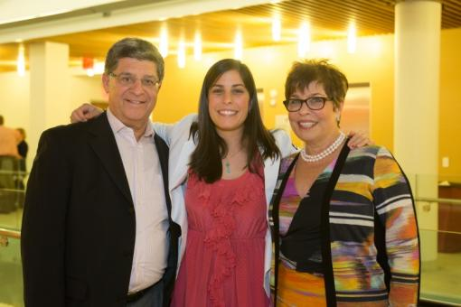 Joel and Lynne Mesznik are co-chairs of the MPC and the proud parents of Kara MD'17