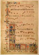 Antiphonal Folio 1 recto, John Hay Library