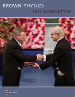 Physics Newsletter cover