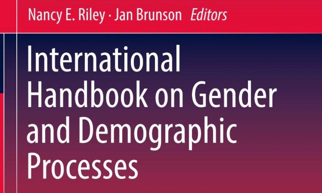cover of the International Handbook on Gender and Demographic Processes